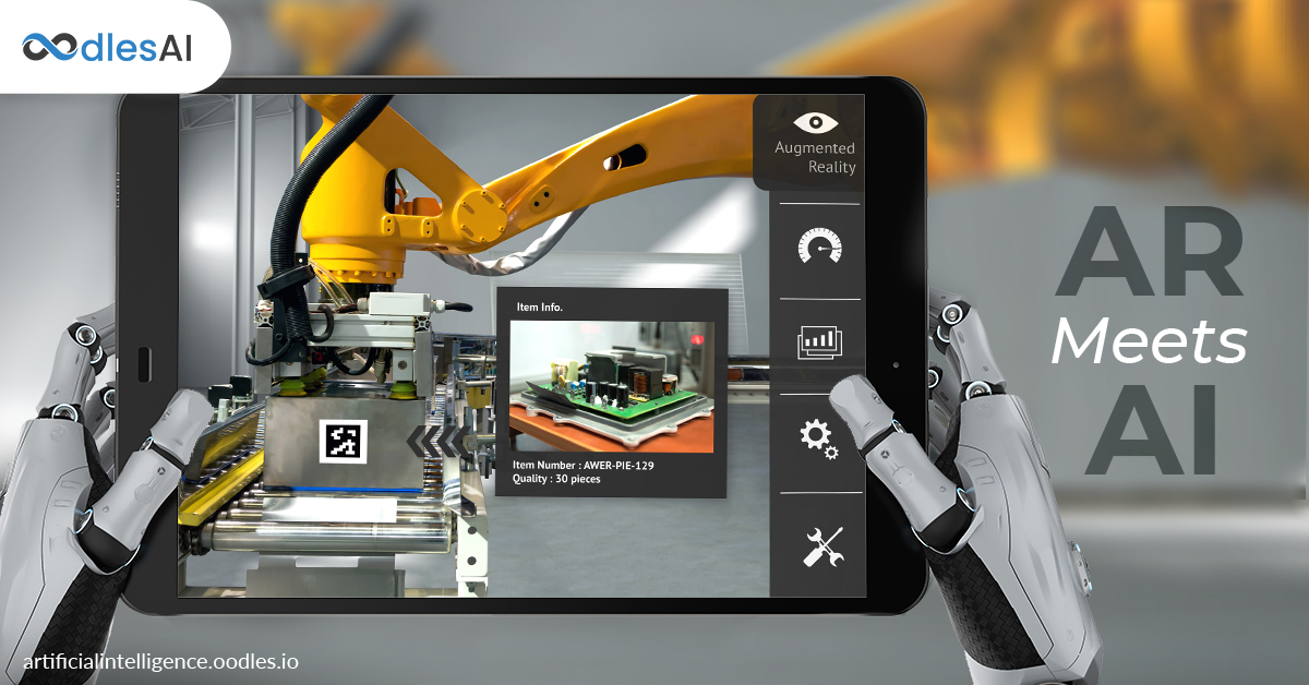 Augmented Reality Meets Artificial Intelligence | Industrial Usecases