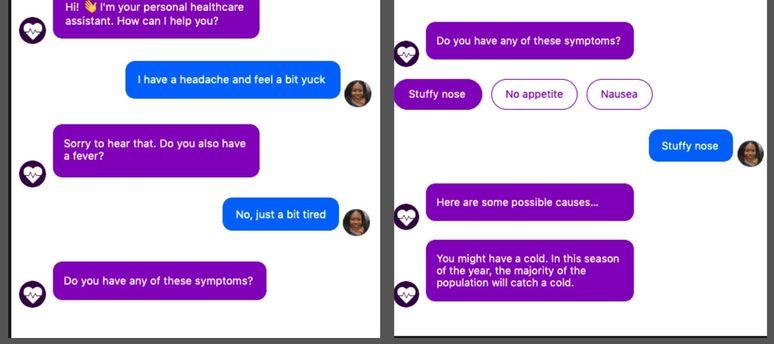 rasa chatbot for healthcare