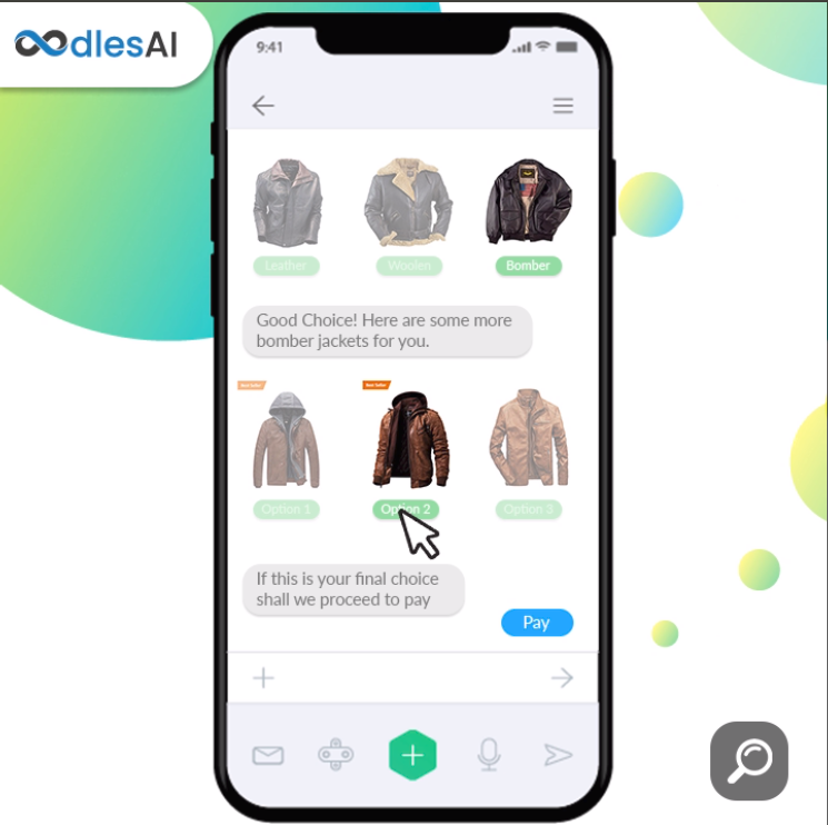 artificial intelligence in eCommerce chatbots