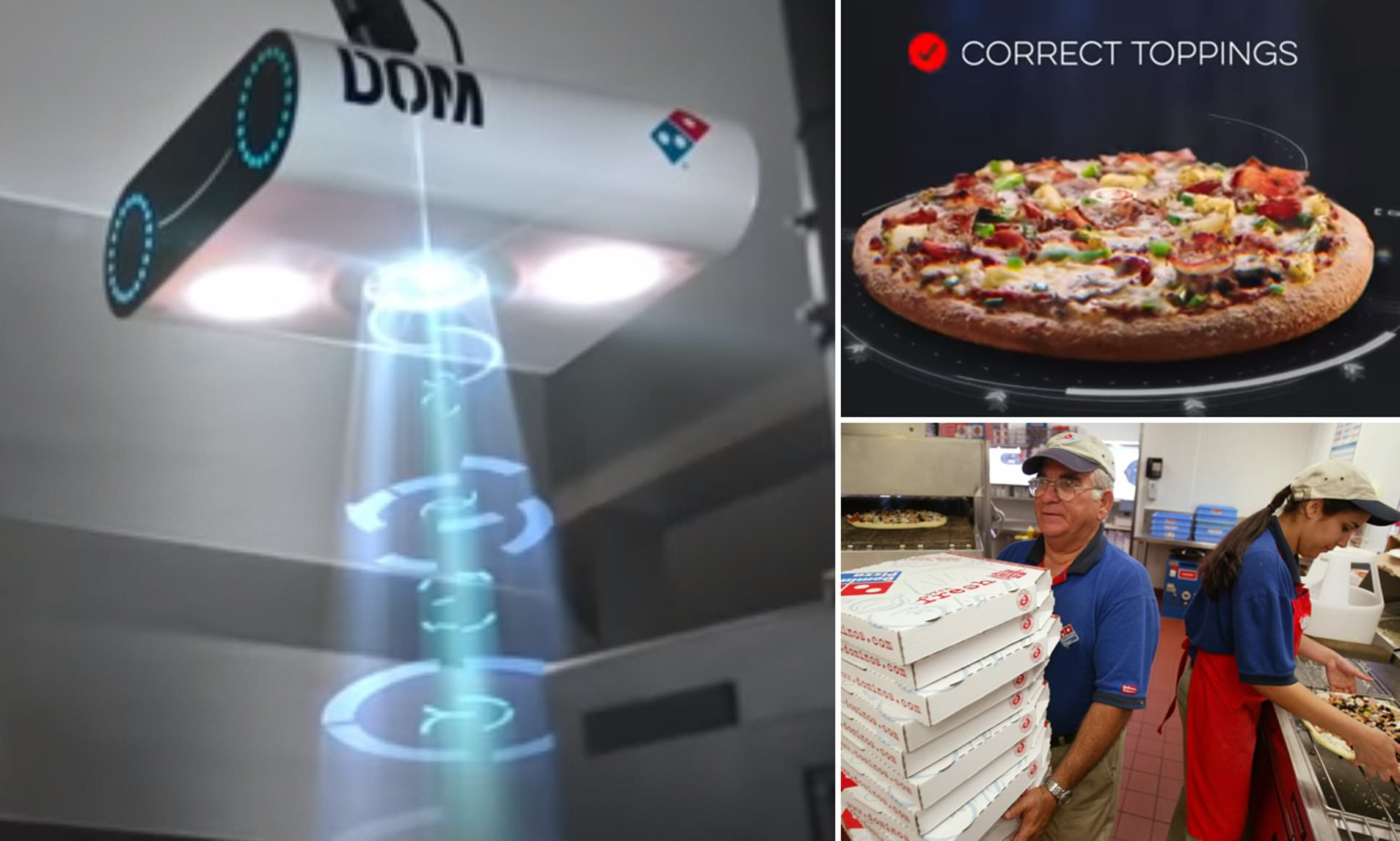 AI quality control for restaurants