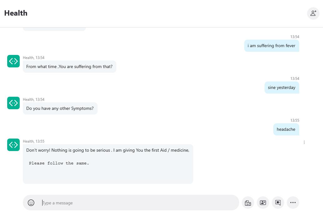 healthcare dialogflow chatbot development frameworks
