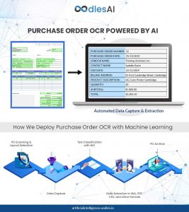 purchase order OCR-AI
