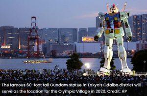 Gundam Statue Tokyo